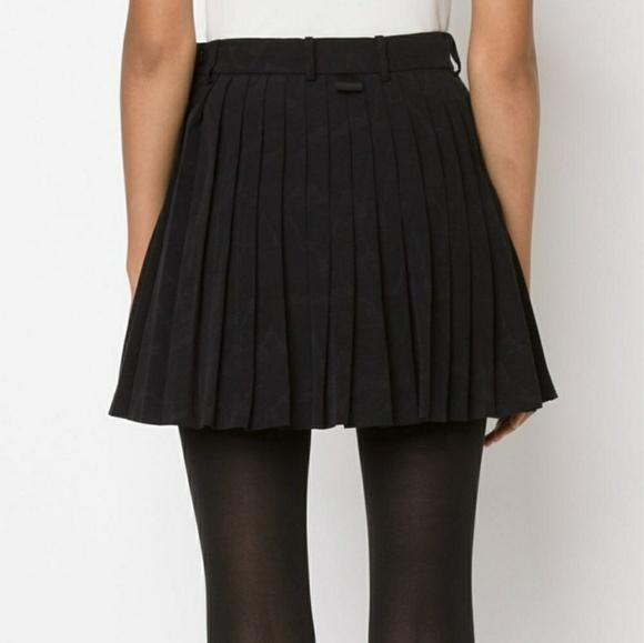 55442b255f Allen B. by Allen Schwartz Skirts | Cute Pleated Black Mini Skirt ...